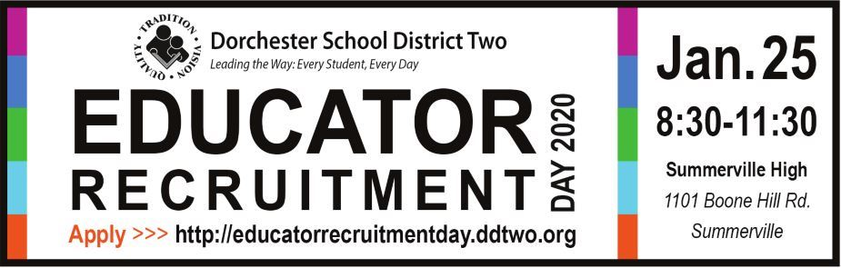 Educator Recruitment Day 2020