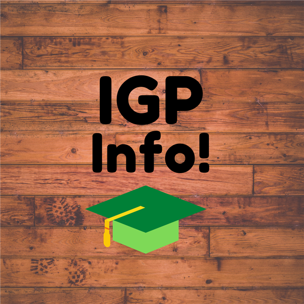 IGP Information for Rising 9th Graders
