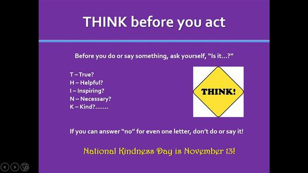 National Kindness Day